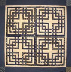 Lattice ~ Carpenter's Square quilt pattern