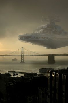Star Destroyer Bay Bridge by Mike Horn #starwars