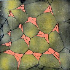 "Saatchi Online Artist sara willett; Painting, ""shadoweb xxiv"" #art"