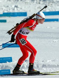 People From Norway | Tora Berger is a Norwegian World Cup level biathlete and Olympic ...