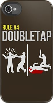 I want this, but rule #2 is the double tap, and rule #4 is seat belts.