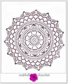 Esquema Patr N Mandala Crochet Ganchillo: Motivos Circulares Crochet Ideas – Florida Mesothelioma Lawyer Crochet Dollies, Crochet Diy, Crochet Chart, Thread Crochet, Vintage Crochet, Crochet Flowers, Crochet Stitches, Crochet Poncho, Crochet Ideas