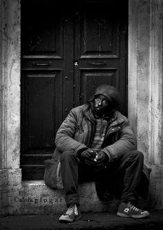 Poverty / Pobreza / HomeLess in Rome, Italy / Roma, Italia