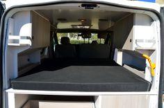 Customized camper kits Nissan Primastar  Equipación de furgonetas