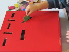 Cardboard slot box