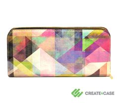 Artist Designed Purse with credit card and zipper by CreateandCase