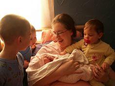 Preparing siblings for a new birth