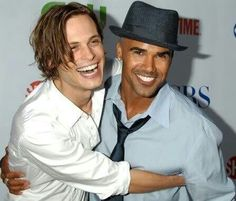 Matthew Gray Grubler and Shemar Moore <3 My Favorite Men
