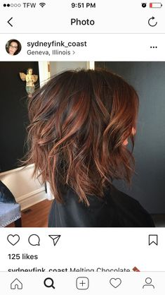56 Trendy hair bob ombre red colour - Trend Hair Makeup And Outfit 2019 Hair Color And Cut, Haircut And Color, Ombre Hair Color, Red Ombre, Fall Hair Colour, Hair Colors, Ombre Bob Hair, Fall Hair Color For Brunettes, Longbob Hair