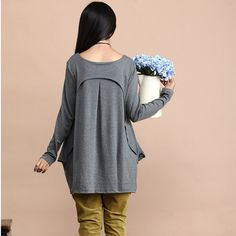 """Made of knitted cotton fabrics.            SIZE S(US S 4-6, UK 10-12, Italian 40-42, French 36-38)  bust: fits bust around 34.5""""-35.5""""/87-90cm  Waist:"""