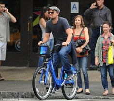 Citibike is for everyone, even Leo likes it!