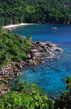 Beach. Anse Major, North Mahe (Seychelles) would LOVE to visit this island.