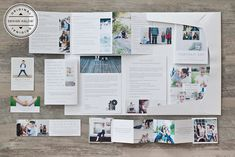 Portrait Welcome Packet: An complete presentation for a boutique studio experience and successful sale. Includes all professionally written verbiage! #designaglow