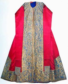 Ottoman, ceremonial caftan made for Sehzade Mehmed, 2nd quarter of 16th century.