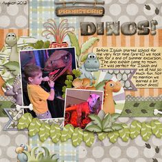 Layout using {RAWWR!} Digital Scrapbook Bundle by Digilicious Design available at Sweet Shoppe Designs http://www.sweetshoppedesigns.com/sweetshoppe/product.php?productid=28706&cat=0&page=1 #digiscrap #digitalscrapbooking #digiliciousdesign #rawwr