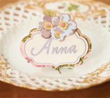 Anna Griffin Place Card