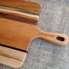 personalized engraved cheese serving board Michael's Woodcraft