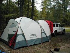 Jeep Cherokee XJ tent | Jeep Liberty tent OEM (will fit a cherokee)