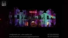 Building projection mapping at monal marquee main margalla road islamabad