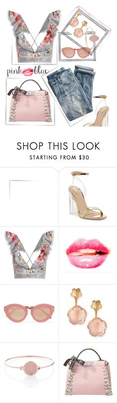 """""""Friday"""" by pretty-is ❤ liked on Polyvore featuring J.Crew, Polaroid, Zimmermann, WALL, Karen Walker, Pasquale Bruni, Michael Kors, Fendi and casualfriday"""