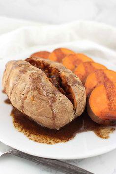 Maple-Cinnamon Sweet Potatoes
