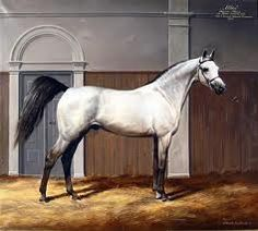 Because of their beauty, Arabians appear in many works of art .#ArabianHorses #Art