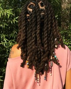 Short Box Braids Hairstyles, Protective Hairstyles For Natural Hair, Dreadlock Hairstyles, Black Hairstyles, Natural Dreads, Natural Hair Twists, Natural Hair Updo, Natural Hair Styles, Dreadlock Styles