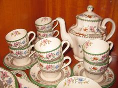 Wonderlijk 9 Best Spode Chinese Rose images in 2015 | Soup, Soups, Chocolate pots YG-34