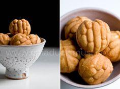 Hodo Kwaja (red bean paste with a walnut filling) // similar to Japanese Taiyaki