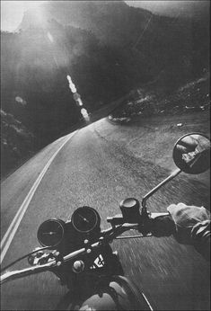Ride a motorcycle.
