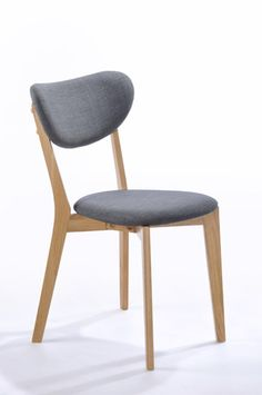 Anton Dining Chair - Oak - FOR A SET OF 2 CHAIRS