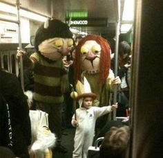Where The Wild Things Are | 32 Family Halloween Costumes That Will Make You Want To Have Kids