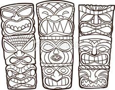 Tiki On Pinterest Tiki Art Tiki Mask And Tiki Totem