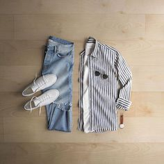 Turning the stripes vertical for a change.     Shirt   debonnefacture Tee    154686b54f7