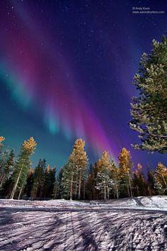 Aurora Finland Jan. 22, 2012