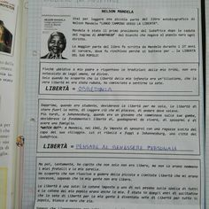 dav Nelson Mandela, Bullet Journal, Classroom, Spring, Studying