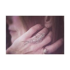 Anniversary gift - feeling the Milwaukee love! thanks for this dreamy photo of the fishbone ring, @clayewi!