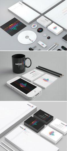 Matias Security branding & identity