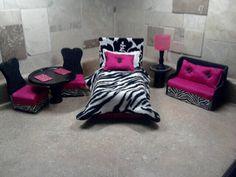 Furniture for Barbie or Monster High Dolls by NanasBarbieFurniture