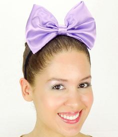 Daisy Duck Headband Light Purple Minnie Mouse by JuicyBows on Etsy