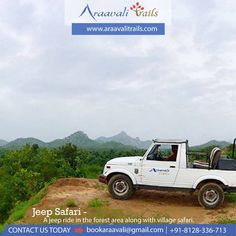 Araavali Trails is one of the best resorts in palanpur and one of the most popular resort near Ambaji. And it is one of the best adventure resort in Palanpur having horse ride, eco jungle walk and many more things. Adventure Resort, Best Resorts, Horse Riding, Jeep, Safari, First Love, Trail, Picnic, Stress