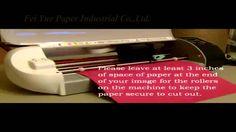 How to use Heat Transfer Paper Siluette - NanJing Fei Yue Paper Industrial Co.LTD.
