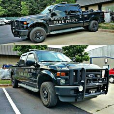 Roswell Park (GA) Police # 881 Ford F-250 Super Duty