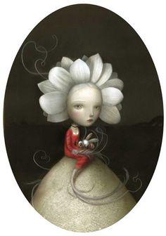 Nicoletta Ceccoli - Illustration  - Fiore
