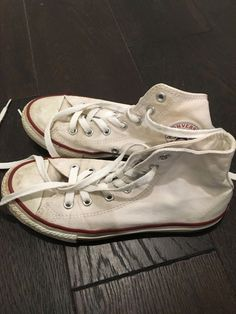 newest a98be 72e5a youth converse white hightop allstar size 2.5  fashion  clothing  shoes   accessories  kidsclothingshoesaccs  unisexshoes (ebay link)