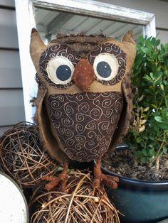 PATTERN: Albertine the Owl  ORIGINAL DESIGN by creativekeepings
