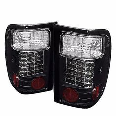 NEWMAR MOUNTAIN AIRE 2000 2001 2002 2003 2004 BLACK TAILLIGHT TAIL LAMP RV - SET
