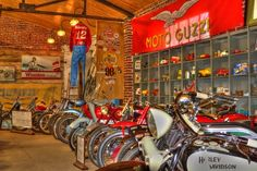 The former Seaba Filling Station in Warwick is now a Route 66 landmark and home to the Seaba Station Motorcycle Museum with more than 65 vintage motorcycles on display.  Photo by: Lindell Dillon