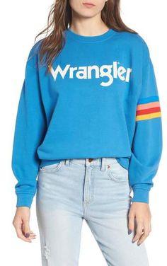 f48f6b563c7 Wrangler Kabel Graphic Sweatshirt Graphic Sweatshirt