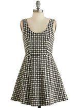 Chess Is More Dress   Mod Retro Vintage Dresses   ModCloth.com